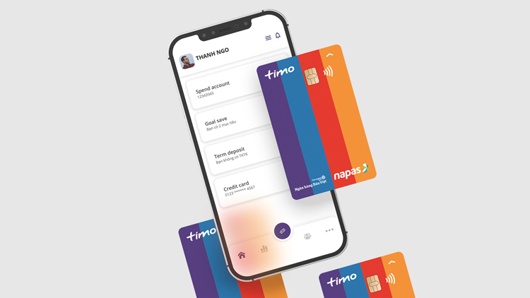 thẻ debit Timo