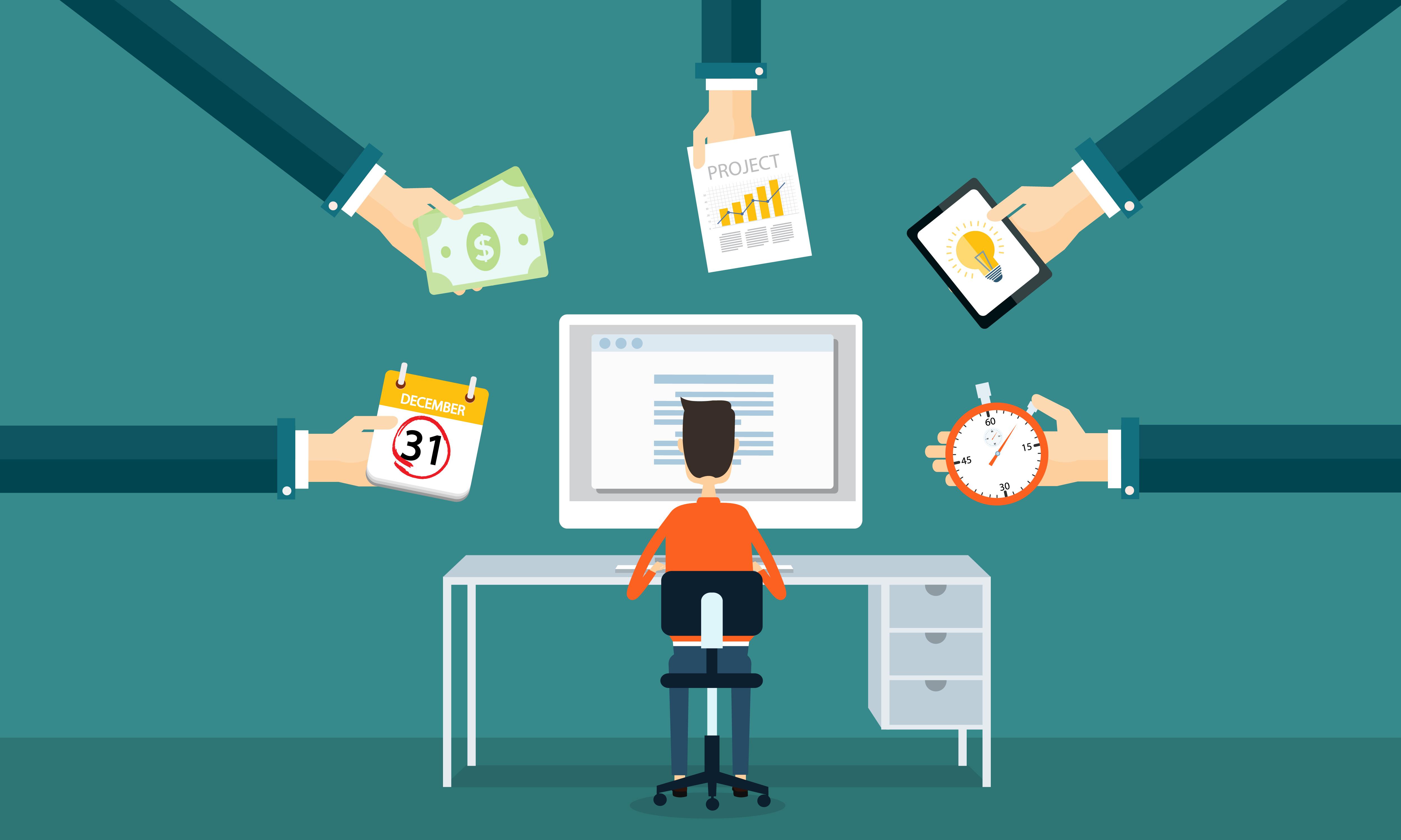 Làm cộng tác viên đem đến nhiều kỹ năng cho bạn (Nguồn Internet)