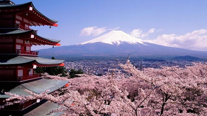 Nhật bản là địa điểm tuyệt vời cho chuyến du lịch của bạn (Nguồn Internet)