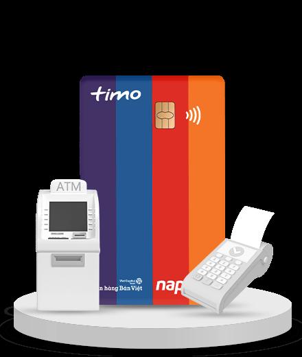 Napas không trực tiếp phát hành thẻ