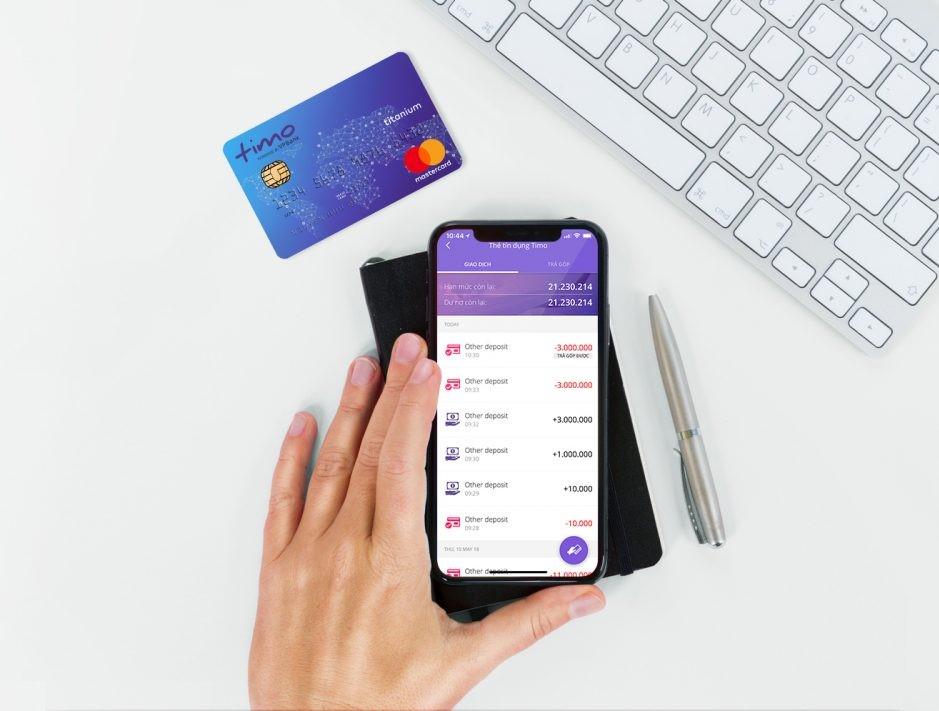 3 lợi ích khi trả góp bằng Mastercard Timo
