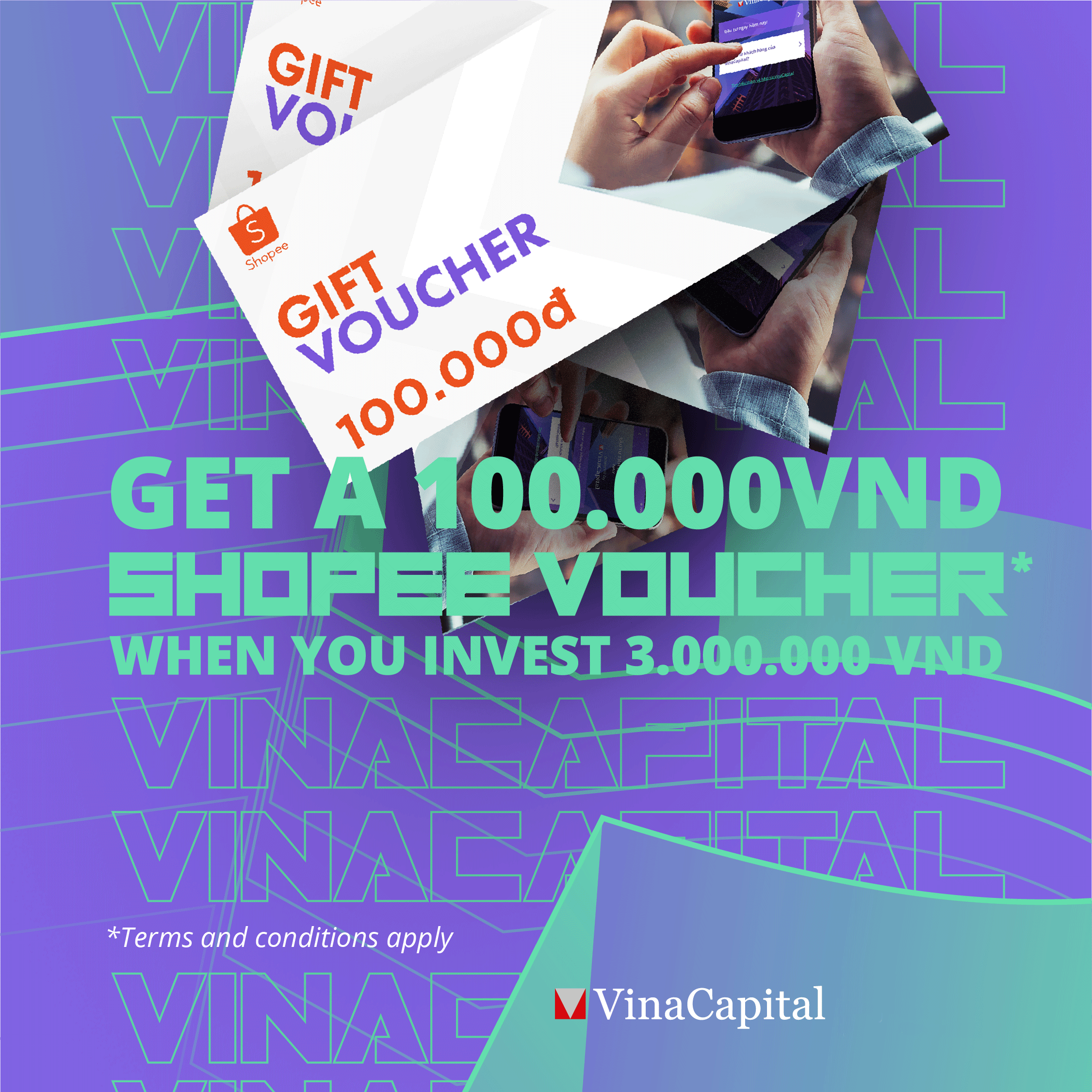 Get A 100 000vnd Shopee Voucher When You Invest 3 000 000vnd