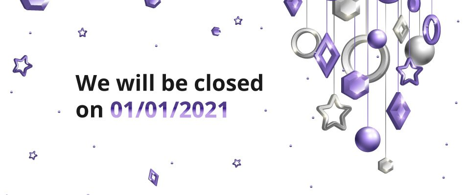 New year Closure