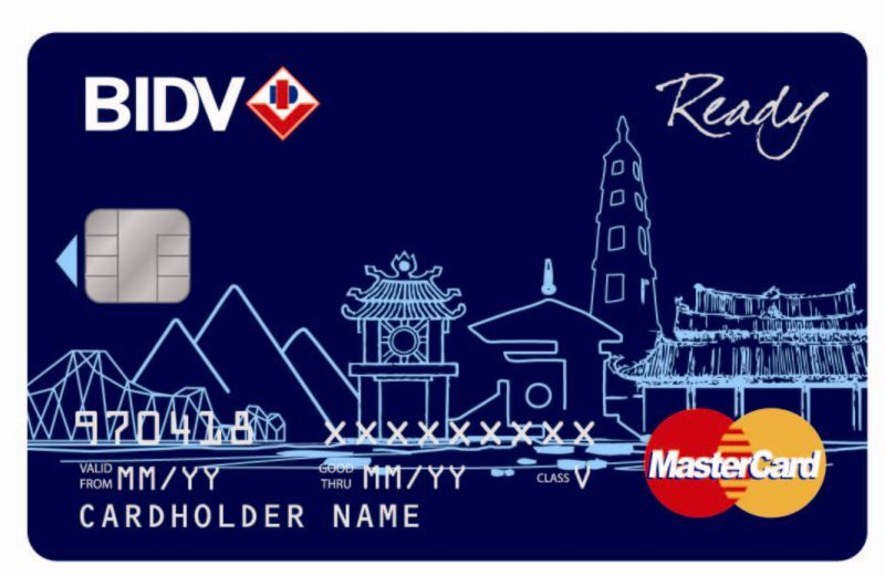 Thẻ MasterCard BIDV