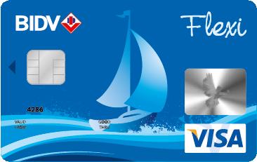 thẻ tín dụng BIDV hạng chuẩn
