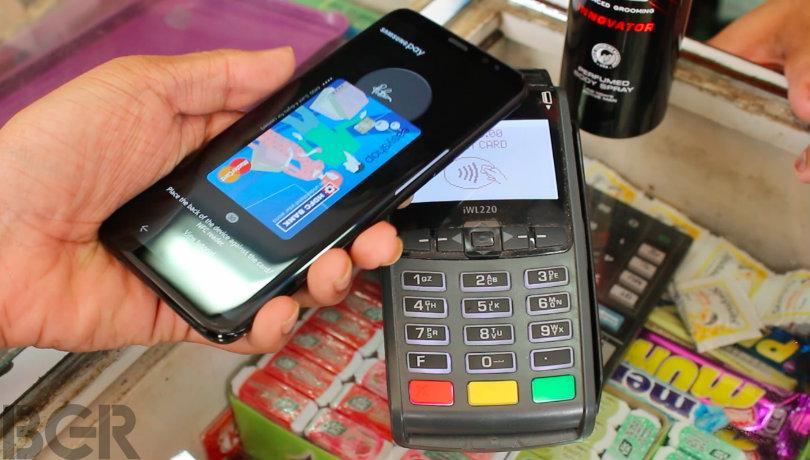 Cách dùng Samsung Pay ở Ấn Độ (Nguồn Internet)
