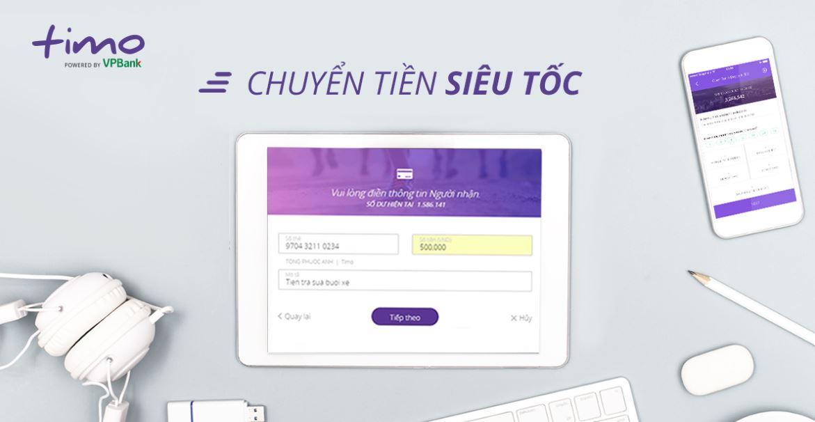 Internet Banking và Mobile Banking Timo Đơn Giản, Tiện Lợi