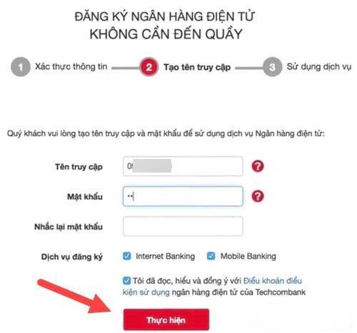 internet banking techcombank
