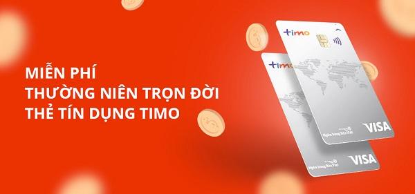 Mở thẻ tín dụng online Timo Visa - Thủ tục làm đơn giản, nhanh chóng