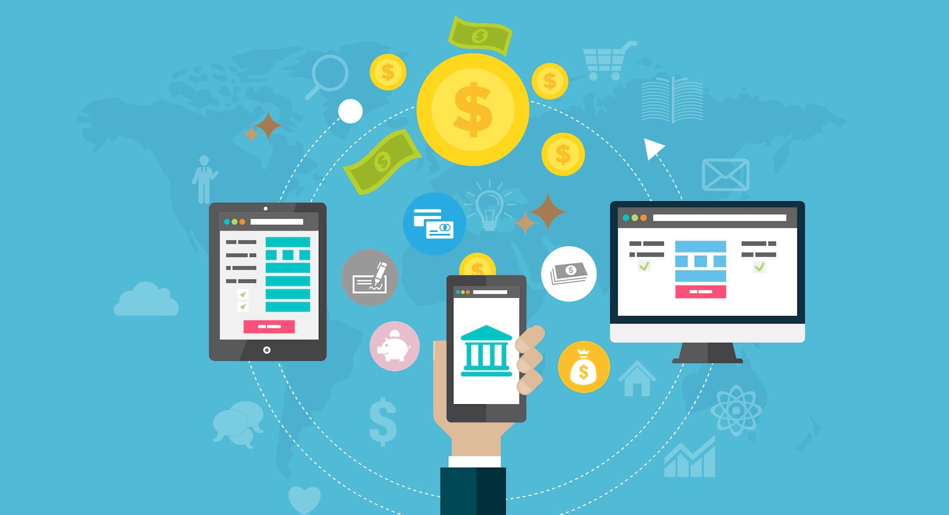 đóng tiền điện online qua ví điện tử