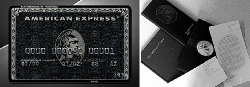 Thẻ tín dụng đen dành cho giới siêu giàu (Nguồn Internet)