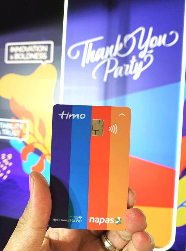 Thẻ Debit Card của ngân hàng số Timo