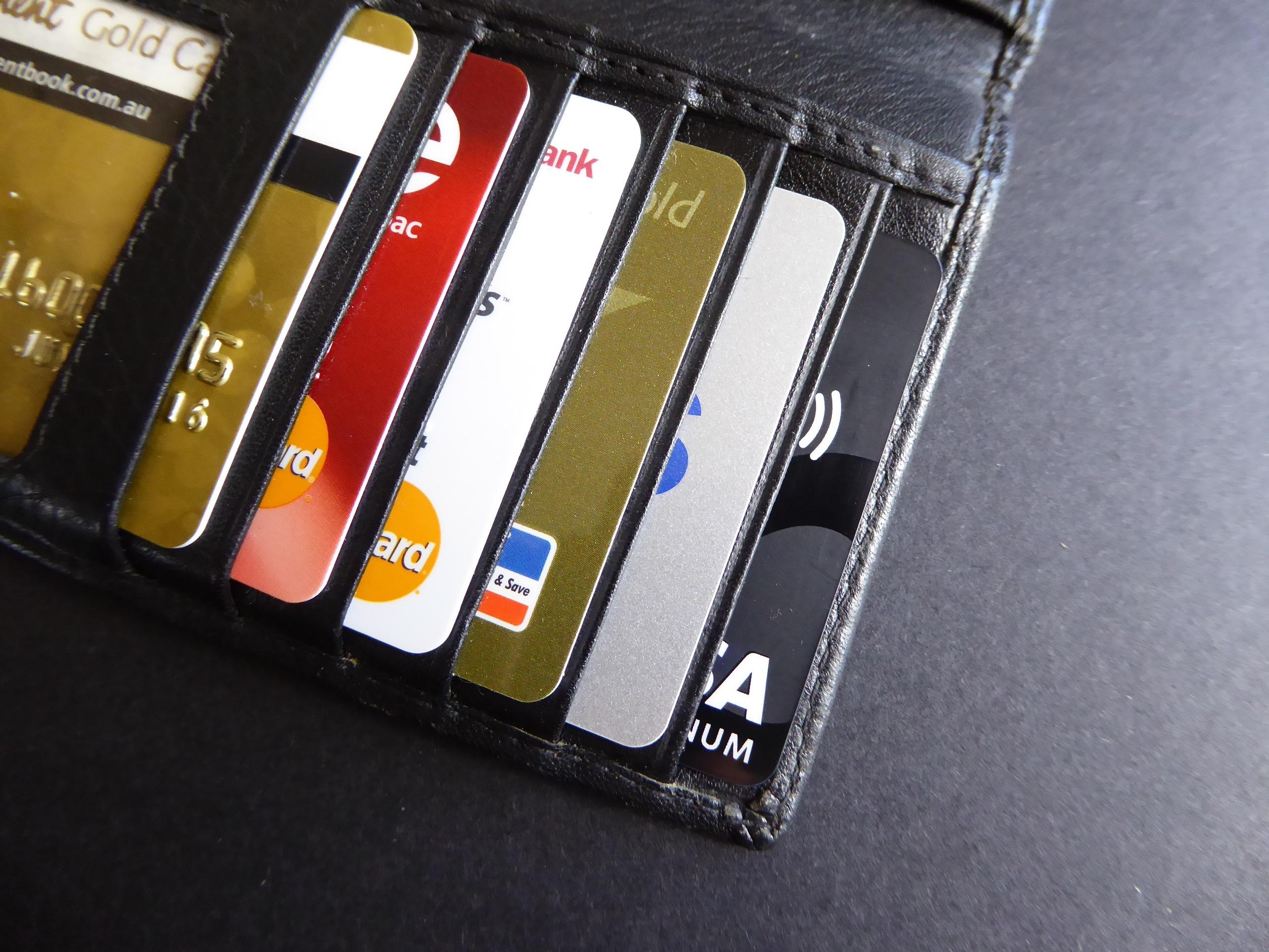 Các loại thẻ tín dụng