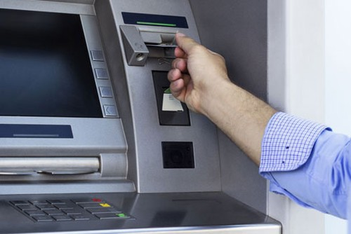 máy ATM
