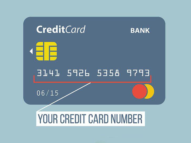 số thẻ tín dụng