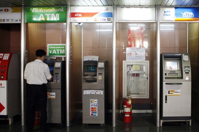 Thanh toán tiền điện qua ATM (Nguồn Internet)