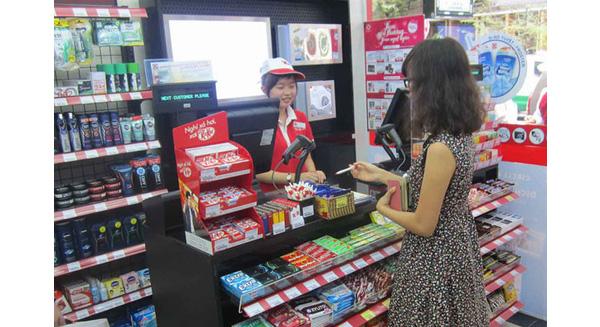 thanh toán tiền điện tại siêu thị tiện lợi