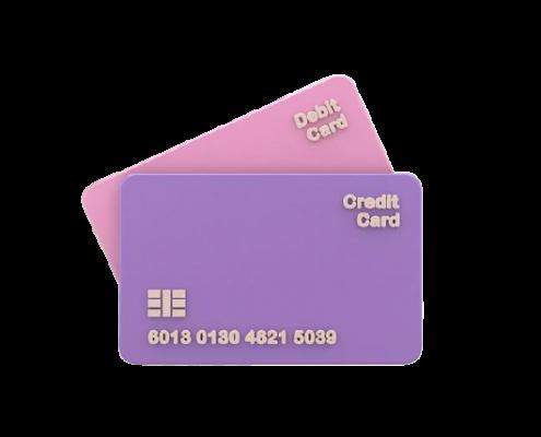 thẻ ghi nợ và thẻ tín dụng