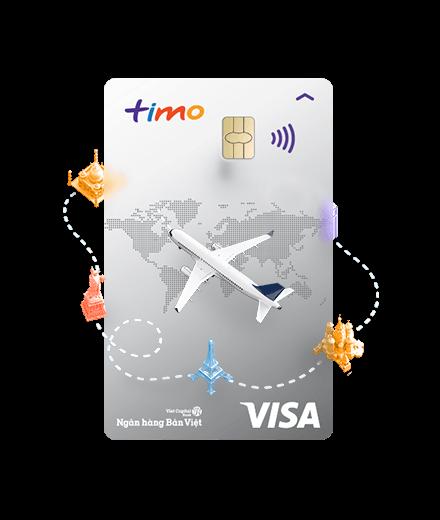 Thẻ Timo Mastercard có nhiều ưu đãi và lợi ích khi đi du lịch