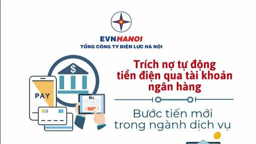 Thanh toán tiền điện online bằng hình thức trích nợ tự động vô cùng tiện lợi